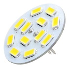 Marsing G4 3W LED Warm White Light Lamp - White + Yellow (AC/DC 12V)
