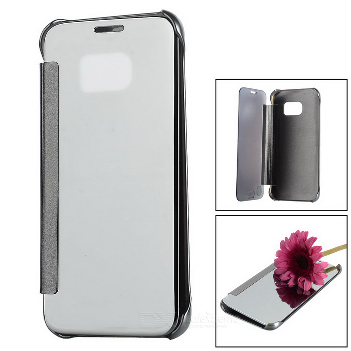 Speildeksel Clear Case for Samsung Galaxy S7 - Sølv