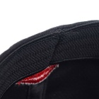 TOURLOGIC Stretchable Elastic Fabric Golf Cap - Black