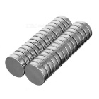 22*22*5mm round ndfeb magnet - silver (30pcs)