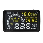 "5.5"" Screen HUD Car Head UP Display System - Black"
