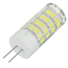 Marsing G4 6W Cool White Light Lamp - Branco + Amarelo (AC 220 ~ 240V)