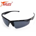 Panlees UV400 Protection Polarized Anti-Glare Lens PC Frame Cycling Sunglasses for Climbing - Black