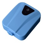 AC / DC Oxygen Pump w/ Soft Tube / Air Stone for Fish Tank - Blue