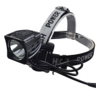 RichFire SF-660 3-Mode 1000lm Bike Light světlometů - Black (4 * 18650)