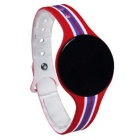 Smart Bluetooth Pulsera Wristband Fitness Tracker - Rojo + Multicolor