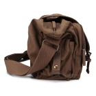 CADEN F1 Outdoor Travel-Ombro Único Camera Bag - Coffee + Bege