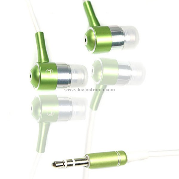 In-Ear Stereo Earbuds (3.5mm Metallic Green)