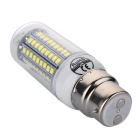 YWXLight B22 12W 102-2835 SMD Cool White LED Corn Lamp (AC 220~240V)