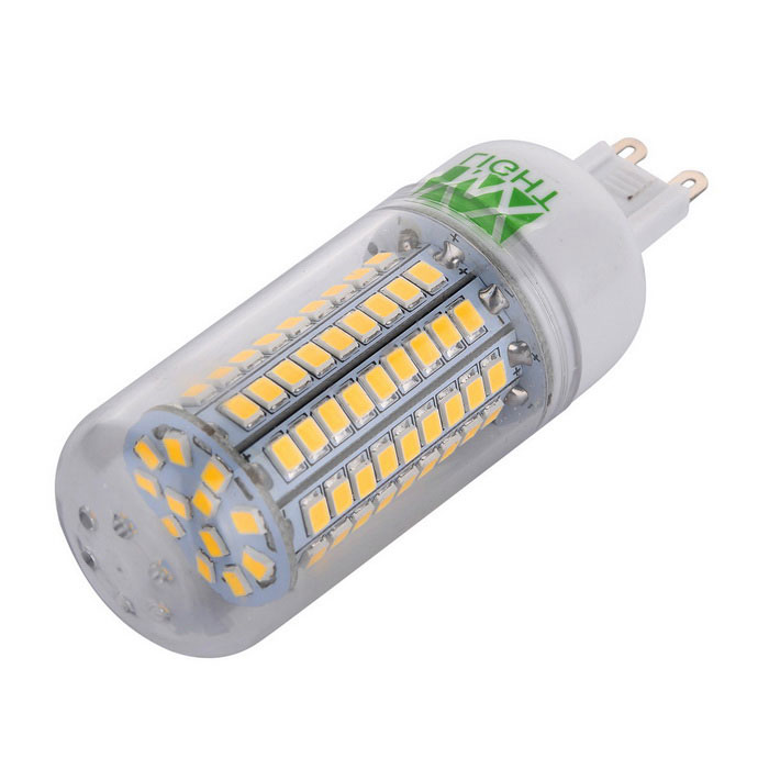YWXLight G9 12W 102-2835 SMD Warm White LED Corn Light (AC 220-240V)