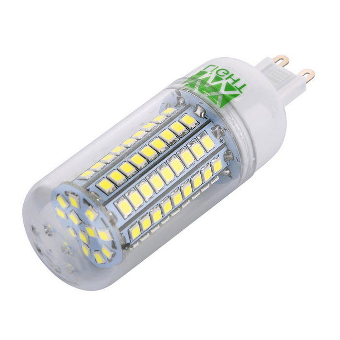 YWXLight G9 12W Cold White 102-2835 SMD LED Corn Light (AC 220~240V)
