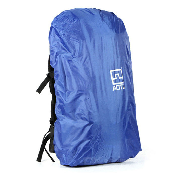 AoTu Outdoor Waterproof Bag Backpack Dust Rain Cover - Blue (40~90L)Bike Bags<br>Form ColorBlueModel-Quantity1 DX.PCM.Model.AttributeModel.UnitMaterial210T polyester taffeta with PU coatingTypeOthers,Backpack rain coverCapacity40~90 DX.PCM.Model.AttributeModel.UnitWaterproofYesBest UseCycling,Mountain Cycling,Recreational Cycling,Road Cycling,Bike commuting &amp; touringPacking List1 x Rain cover1 x Storage pouch<br>