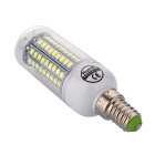 YWXLight E14 12W 102-2835 SMD Cold White LED Corn Light (AC 220~240V)