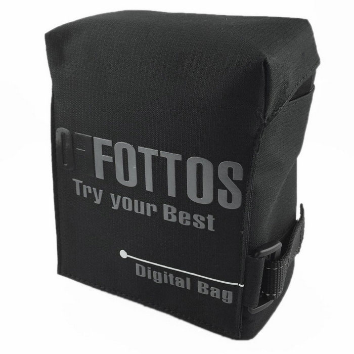 Fottos F0055 BK Camera Bag for All Mini DSLR / DV - Grey + BlackBags and Cases<br>Form ColorBlack + Grey + Multi-ColoredModelF0055Shade Of ColorBlackMaterialNylonQuantity1 DX.PCM.Model.AttributeModel.UnitCompatible BrandAll mini DSLR and DV, such as Nikon, Canon, Sony, Olympus, etcCompatible ModelsAll mini DSLR and DV, such as Nikon, Canon, Sony, Olympus, etcInner Dimension16x11x8Dimension18x12.5x10 DX.PCM.Model.AttributeModel.UnitOther FeaturesStrap Length: Min. 60 / Max. 128cmPacking List1 x Camera Bag<br>