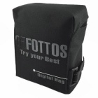 Fottos F0055 BK Camera Bag for All Mini DSLR / DV - Grey + Black