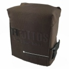 Fottos F0055 CF Camera Bag for All Mini DSLR / DV - Coffee + Black