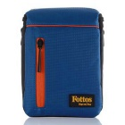 Fottos F0039 BL Camera Bag for All Mini DSLR / DV - Blue + Orange