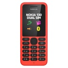 Nokia 130 Dual SIM Mobile - Red