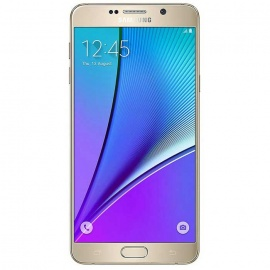Samsung Galaxy Note 5 N920C 32GB ROM Android Mobile Phone - Gold