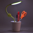 USB Powered Mini LED Eyes Desklamp Protetor - Branco + Verde