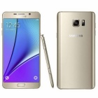 "SAMSUNG Galaxy Note 5 Dual Sim LTE 32GB 5.7"" Mobile Phone - Gold"