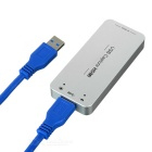 USB 3.0 1080P 60FPS HDMI captura dongle USB captura HDMI - plata