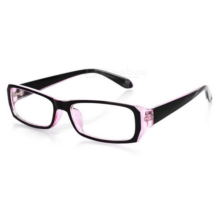 Radiation Protection Anti-Blue-Light Glasses - Black + Transparent Red