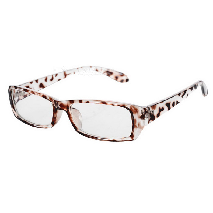 Radiation Protection Anti-Blue-Light Glasses - Leopard Print Black