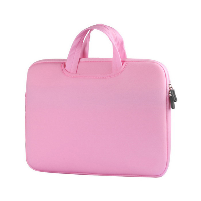 "AKR Dual-Purpose forro do saco / sacola para MacBook 12 ""- rosa"
