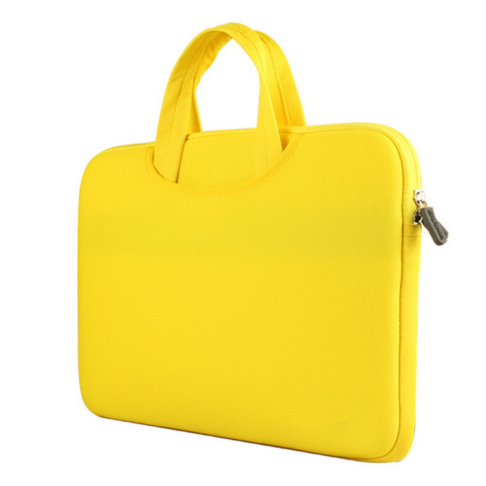 "AKR Dual-Purpose Liner Bag / Tote Bag for MACBOOK 12"" - Yellow"
