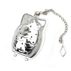 Owl Style Stainless Steel Tea Strainer Infuser - Silver