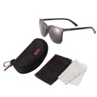ReeDoon SK702 UV400 Protection Polarized Sunglasses - Black + Grey