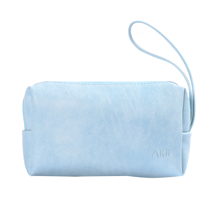 AKR PU Storage Bag Case - Sky Blue