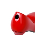 High-Heeled Shoe Style Creative Gas Lighter - Red