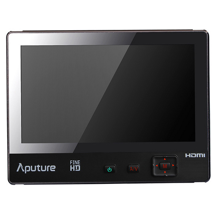 Aputure VS-1 FineHD monitor de vídeo para las cámaras DSLR - Negro