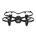 hubsan H107P 2.4GHz 4-CH 6-Axis Gyro RC quadcopter w / headless - svart