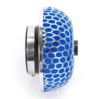 "CARKING 3"" Cold Air Intake Mushroom Rubber Filter + Clamp - Blue"