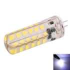 YWXLight G4 4W 250~350lm 48-2835 SMD 6000K White LED Light Bulb (AC/DC 12-24V)