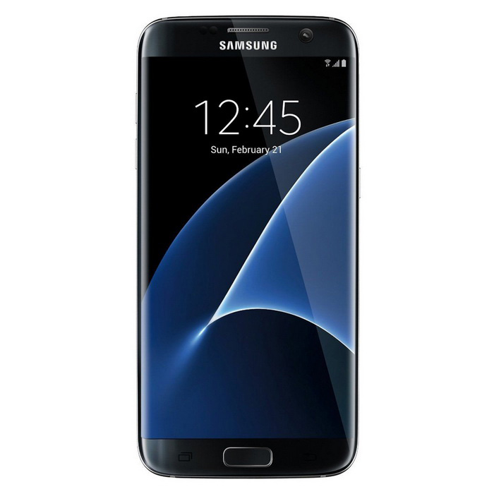 "Samsung Galaxy S7 Edge G935FD Dual Sim 5.5"" Smart Phone with 4GB RAM�� 32GB ROM - Black"