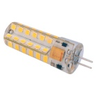YWXLight G4 4W 48-2835 SMD Warm White LED Light Bulb - White + Orange