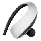 Q2 Stereo Bluetooth V4.1 Ear-hook Single Earphone w/ Mic. / Touch Key - Black + Silvery Grey