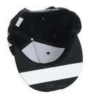 Chapeau Hip-hop de mode Graffiti de mode Grape - Noir + Blanc