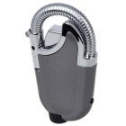 Flexible Goose Neck Nozzle Mini Gas Torch Windproof Lighter - Gray