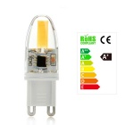 Dimmable G9 4W Warm White LED - White + Orange (220~240V)
