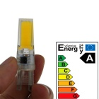 G9 3W Cold White LED Light - White + Orange (AC 220~240V)