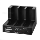 "MAIWO K3093 USB 3.0 2.5/3.5"" SATA + ESATA 3-Bay 1:2 Clone HDD Docking - Black"