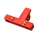 Aluminum Alloy Saddle Mounting Clip Bicycle Seat Post Clip - Red