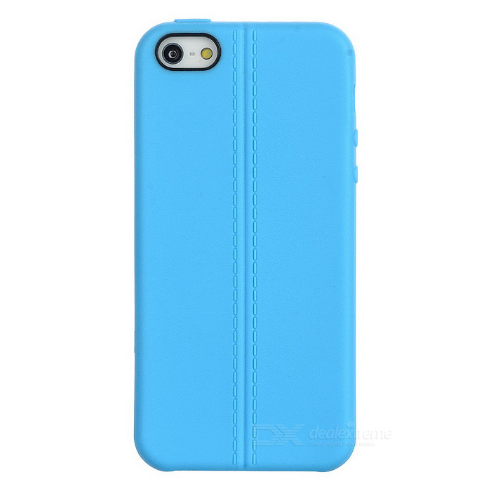 TPU Protective Case Cover for IPHONE SE - Blue