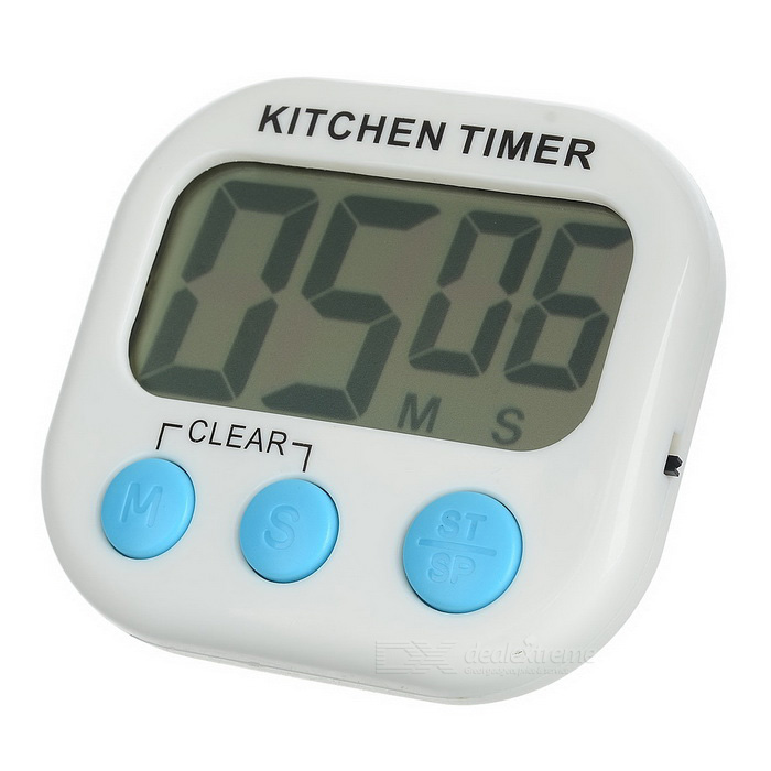 """2.1"""" LCD Digital Kitchen Timer W/ Count Up Count Down"""