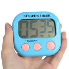 "2.1"" LCD Digital Kitchen Timer w/ Count Up Count Down Function - Blue"